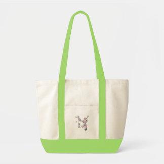 de zak van de kersenbloesem draagtas
