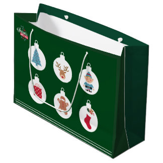 de zak van de Kerstmisgift Groot Cadeauzakje