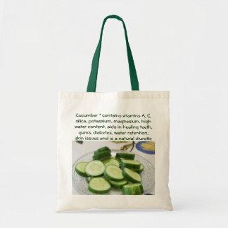 De zak van de komkommer draagtas