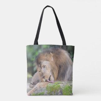 De zak van de leeuw draagtas