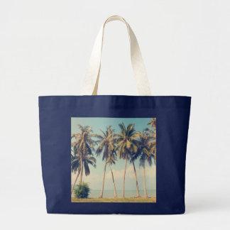 De Zak van de Vakantie van het Strand van de palm Grote Draagtas
