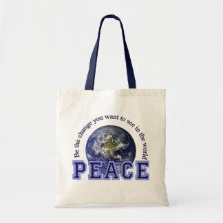 De zak van de vrede - kies stijl draagtas