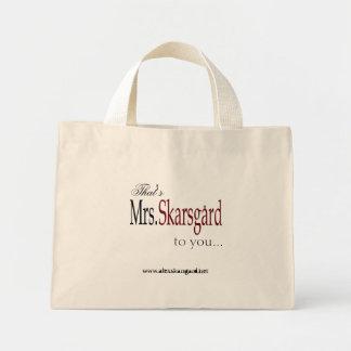 """De zak van het Bolsa van """"Mevr. Skarsgard"""" Mini Draagtas"""