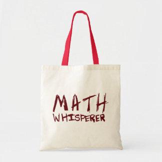 De Zak van het Bolsa van Whisperer van de wiskunde Draagtas