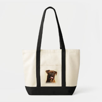 De zak van het de hondbolsa van de bokser draagtas