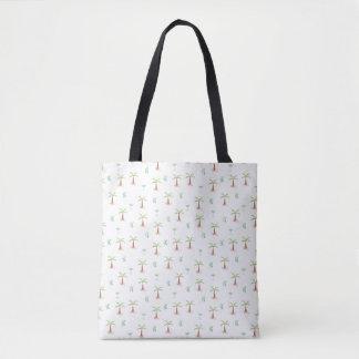 de zak van het de klantenstrand van het palm tre draagtas