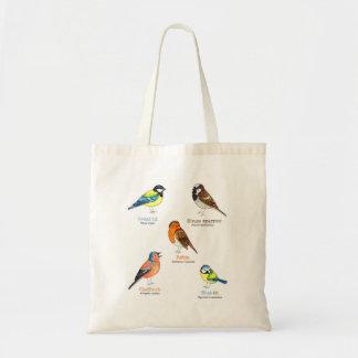 De zak van het de vogelbolsa van de tuin draagtas
