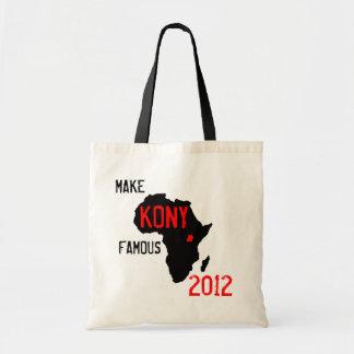 De zak van Kony 2012 Draagtas