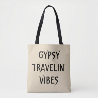 De Zak van Travelin Vibes van de zigeuner Draagtas
