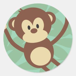 De Zaken van de aap om Stickers