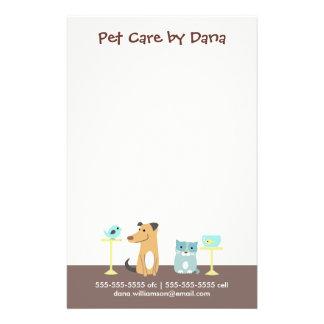 De Zaken van de Babysitter van het huisdier Flyer 14 X 21,6 Cm