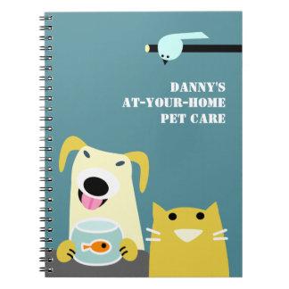 De Zaken van de Babysitter van het huisdier Notitieboek