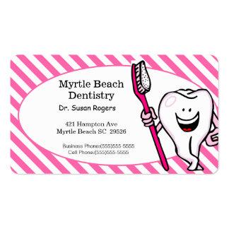 De Zaken van de tandarts en de Kaart van de Visitekaartjes