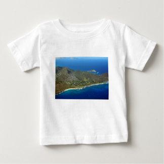 De zandige Antenne van het Strand Baby T Shirts