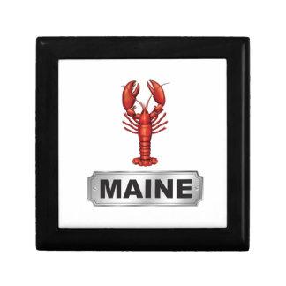 De zeekreeft van Maine Decoratiedoosje