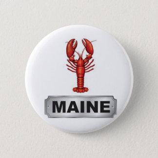 De zeekreeft van Maine Ronde Button 5,7 Cm