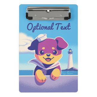 De Zeeman van de Hond van het Zee van het Puppy Mini Klembord