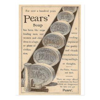 De Zeep van peren Briefkaart