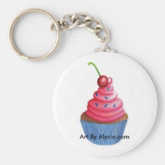 De Zeer belangrijke Ketting van Cupcake Sleutelhangers