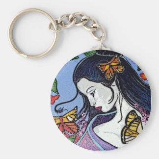 De Zeer belangrijke Ketting van de geisha Sleutelhanger