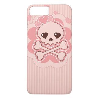 De zeer leuke Schedel van de Liefde iPhone 7 Plus Hoesje