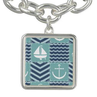 De zeevaart Armband van de Charme van het Dekbed