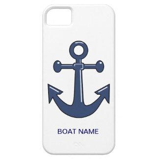 De zeevaart Blauwe Naam van de Boot van de Douane  Barely There iPhone 5 Hoesje