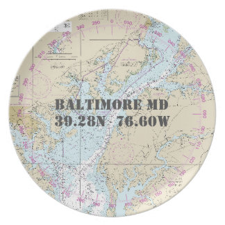 De zeevaart Boot van het M.D. van Baltimore van de Bord