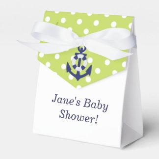 De zeevaart Doos van de Gunst van het Baby shower Bedankdoosjes