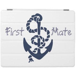 De zeevaart Marineblauwe Doopvont van de Kabel van iPad Cover