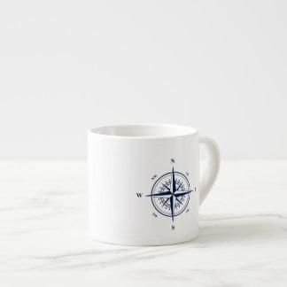 De zeevaart Mok van de Espresso met Blauwe