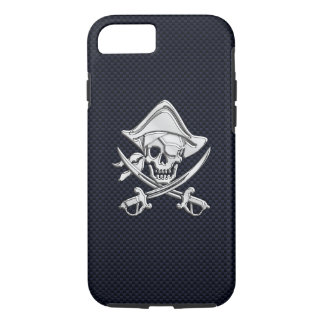 De zeevaart Piraat van het Chroom op de Druk van iPhone 7 Hoesje