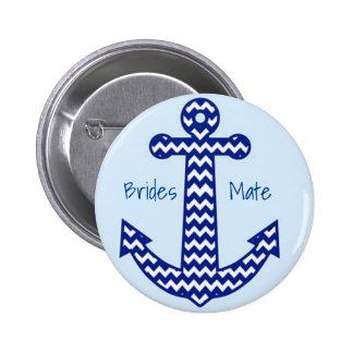 De zeevaart Speld van de Partij van de Ronde Button 5,7 Cm