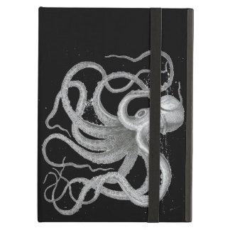 De zeevaart Vintage Tekening Kraken van de Octopus iPad Air Hoesje