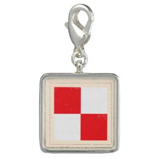 """De zeevaart Vlag van het Signaal van de Brief """"U"""" Foto Charm"""