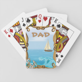 De ZeevaartSpeelkaarten van de papa Pokerkaarten