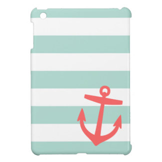 De ZeevaartStrepen van de munt & van het Koraal en iPad Mini Cases