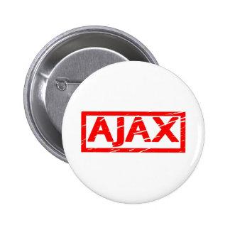De Zegel van Ajax Ronde Button 5,7 Cm