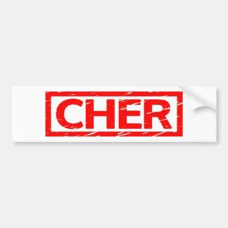 De Zegel van Cher Bumpersticker