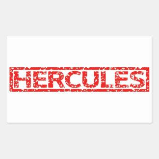 De Zegel van hercules Rechthoekvormige Sticker