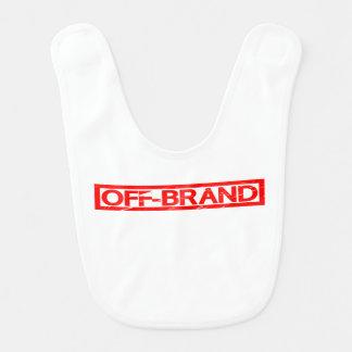 De Zegel van het van-merk Baby Slabbetje
