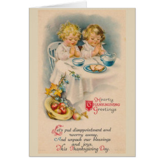 De Zegen en de Vreugden van de Thanksgiving, Briefkaarten 0
