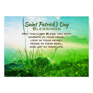 De Zegen van de Dag van heilige Patrick, Iers Kaart