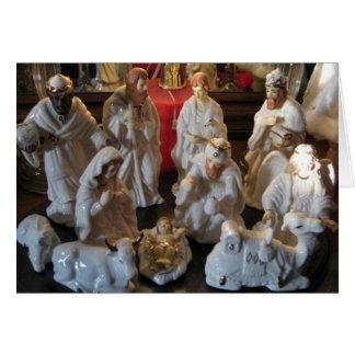 De Zegen van de Geboorte van Christus van Kerstmis Wenskaart