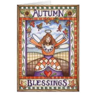 De Zegen van de herfst - Wenskaart