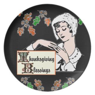 De Zegen van de Thanksgiving Bord