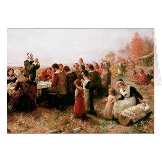 De Zegen van de Thanksgiving. De klantgerichte Kaart