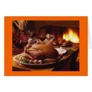 De Zegen van de Thanksgiving Kaart
