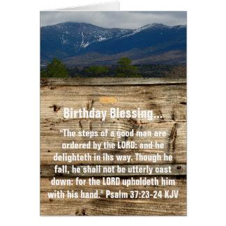 De Zegen van de verjaardag Kaart