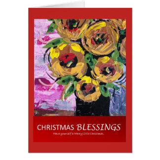 De Zegen van Kerstmis Kaart